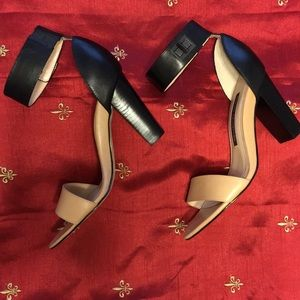 French Connection Katrin Ankle Strap Sandals 39 M